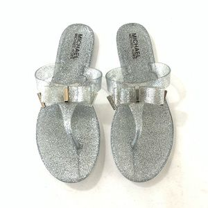 Michael Kors Kayden jelly sandals flip flops 5
